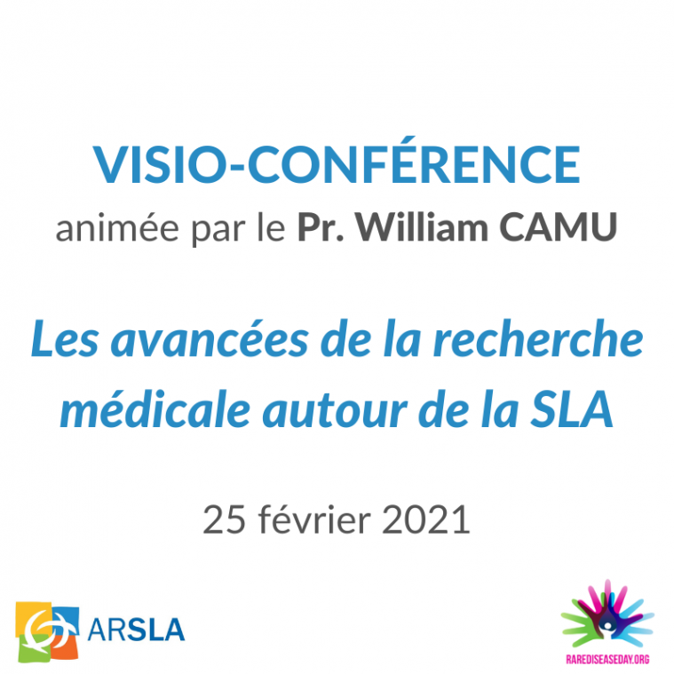 CONFERENCE W. CAMU - ARSLA - MALADIE DE CHARCOT